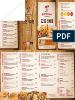 Barcelos Delivery Menu July