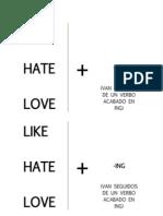 Like Hate Love