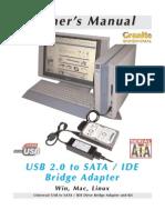 Usb Sata Ide Bridge Manual