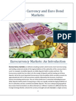 The Euro Currency and Euro Bond Markets