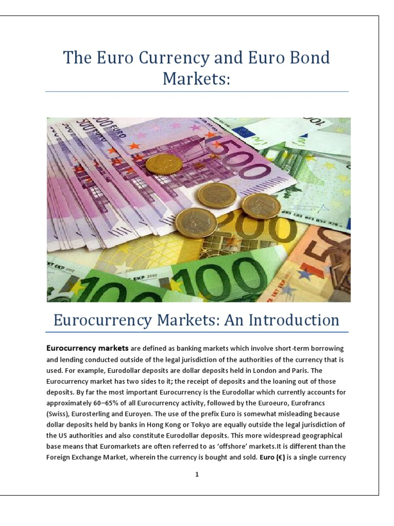 euri currency markets