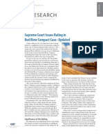 Supreme Court Issues Ruling in Red River Compact Case - Updated