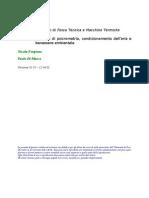 Elementi di psicrometria, condizionamento dell'aria e benessere ambientale