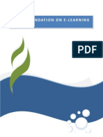 Report on Elearning