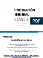 Ip Chile - Adm. General - Clase 1