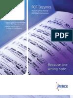 Brochure Novagen Enzimas PCR
