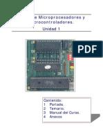 Curso Microprocesadores y Microcontroladores