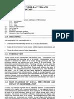 Unit-21 Socio-Cultural Factors and Administration