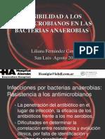 Sensibilidad Bacterias Anaerobias 2013 Para Dejar