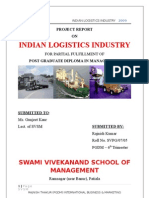 INDIAN LOGISTICS INDUSTRY