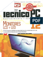 12. Monitores LCD y LED