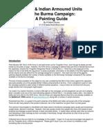 Burma Army Painting Guide