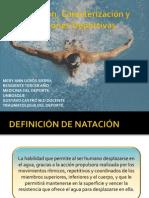 Natación, Caracterización y Lesiones Deportivas