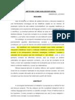 LA METAFORA COMO ANALIZADOR SOCIAL.doc