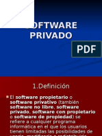 Software Privado
