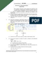 EC ConventionalPaper I 2