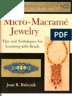 Micro Macrame Jewelry
