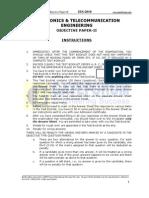EC ObjectivePaper II