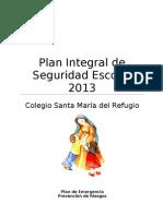 Plan Integral de Seguridad 2013 SMR