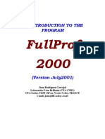 FullProf MaFullProof Manual
