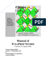 Manual FullProf Studio
