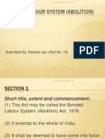 Bonded Labour Act 1976