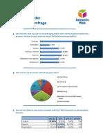 Umfrage-Auswertung Semantic Web Day