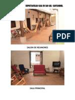 Registro Fotografico Casa San Gil