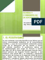 2.2. TEORÍAS Y CORRIENTES DE LA SOCIOLOGÍA