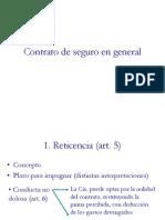 Santiere 2-5 - RETICENCIA Y AGRAVACIÓN DEL RIESGO