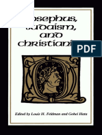 Louis H. Feldman Gohei Hata-Josephus, Judaism and Christianity-Wayne State University Press(1987)
