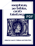Josephus the Bible and History