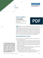 BPCL ERP Implementation Case Analysis