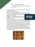 Ejercicio OPTATIVO Identificación de evidencias de recepción 9x3