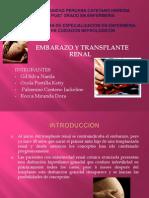 Embarazo y Transplante Renal