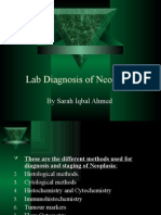Lab Diagnosis of Neoplasia
