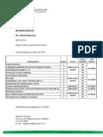 Cotação Treinamentos 26.07.13