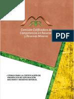 Código Chile Recursos y Reservas Mineras