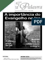 A importância do Evangelho no lar jornal março 2008