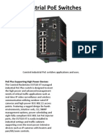 Industrial Poe Switches