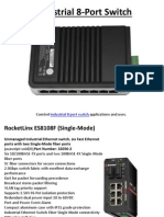 Industrial 8 Port Switch