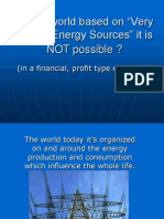 Why a world based on Very Cheap Energy it's not possible.