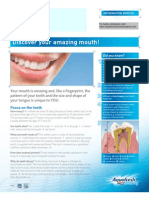 Patient Materials Discover Your Amazing Mouth Aquafresh Science Academy