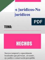 Hechos Juridicos -No Juridicos