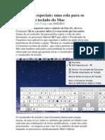 Caracteres Especiais No Mac