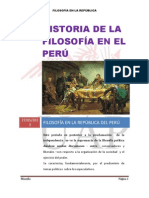 Filosofia en La Republica