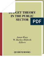 public sector budgeting Public sector budgeting : a public economics and a public administration  approach udc 33612 by rogerio f pinto introduction public budgeting  practice.