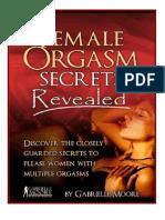 Female Orgasm Revealed