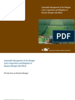 2007. Sustainable Management of the Nitrogen Cycle in Agriculture and Mitigation