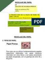 Reciclaje Del Papel 25.07
